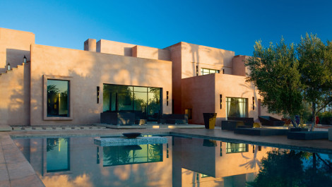 Villa contemporaine en Palmeraie de Marrakech