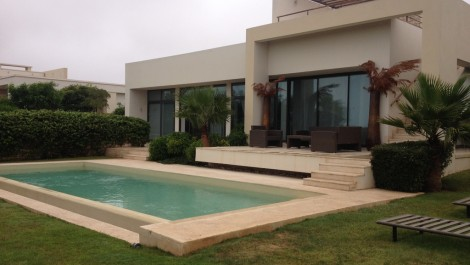 Villa d'exception sur le golf