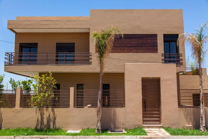 Photo Facade Villa Moderne. Perfect A Streamline Moderne Villa Of ...
