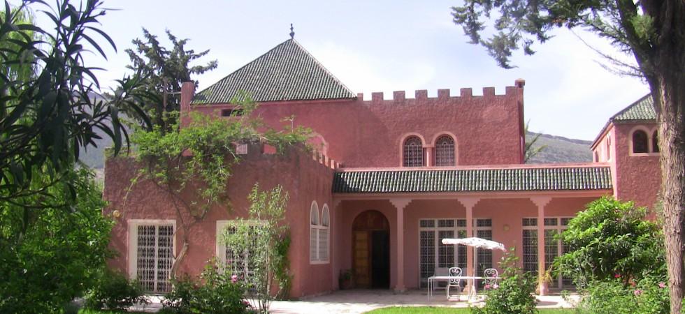 villa gite atlas marrakech