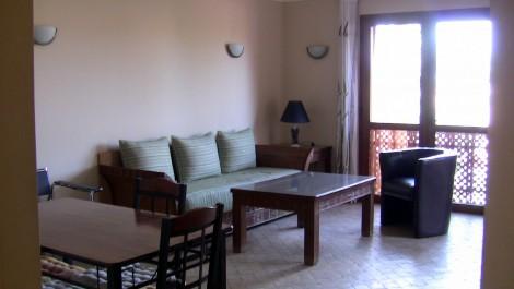 Appartement meublé au sein d'une résidence avec piscine