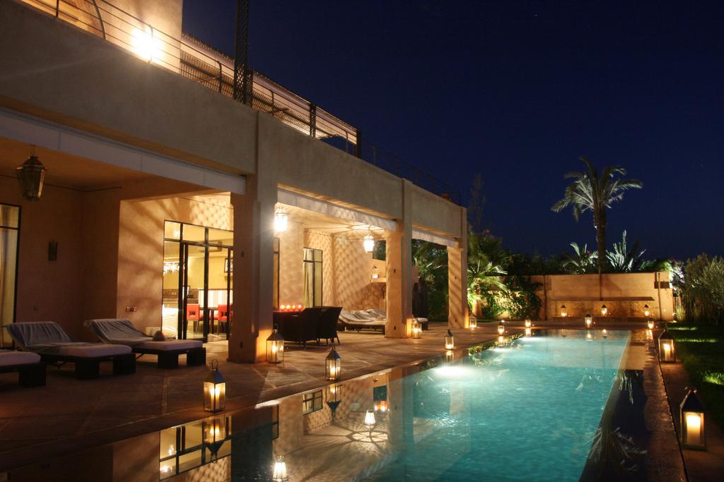 Superbe villa contemporaine et design marocain sur Golf