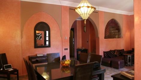 Villa-Riad au sein d'une très belle résidence à la Palmeraie
