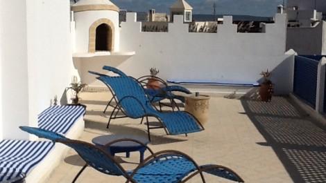 Beau riad restauré au coeur de la médina d'Essaouira