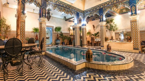 Riad Maison d'hôte traditionnel avec très bon chiffre d'affaire