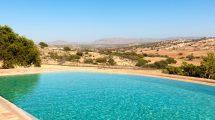 Superbe maison berbère vue 360° sur campagne et océan