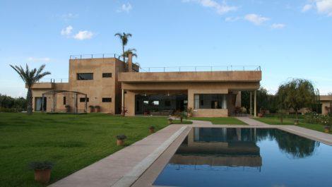 Villa contemporaine à louer Route de l'Ourika
