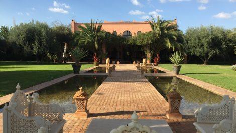 Splendide villa style retour des Indes