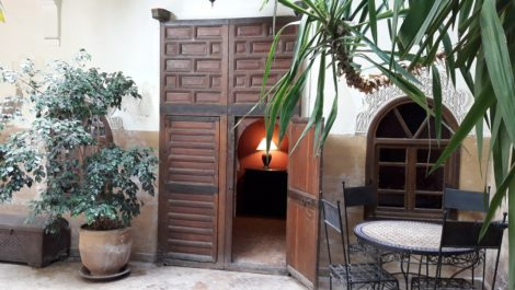 Riad traditionnel a rafraîchir, excellent potentiel