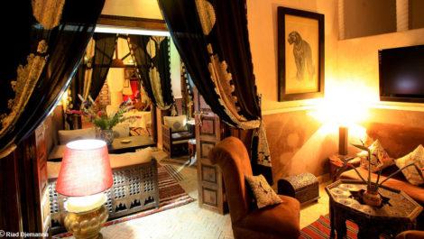 Vaste Riad-Maison d'hôtes, double patio, deux piscines et spa. Rare !