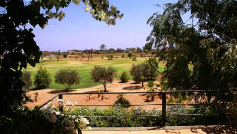 Villa 1ère ligne de Golf face à l'Atlas!