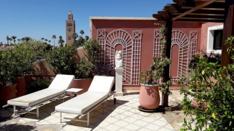 Beautiful loft, central, view Koutoubia