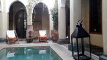 Riad avec piscine, surmonté d'un penthouse à Dar El Bacha