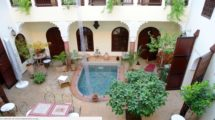 Riad – Guest house, large and beautiful patio, very bright