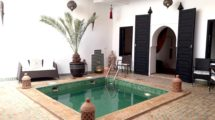 No fault of taste for this Riad nested in the heart of the Casbah of Marrakech
