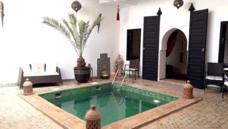 Aucune faute de goût pour ce Riad niché au cœur de la Casbah de Marrakech