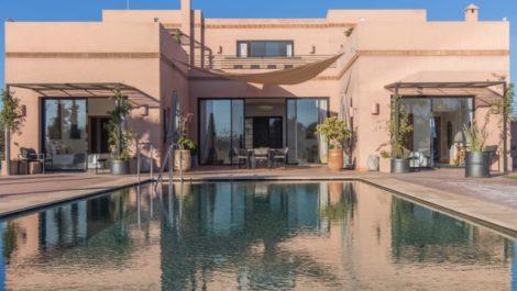 Superbe villa contemporaine route de fez