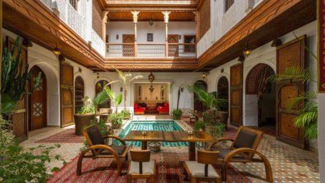 Architecture Mauresque, luxe et raffinement pour ce Riad de neuf chambres et suites – SPA