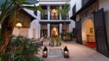 Luxueux et lumineux Riad ayant conservé de nombreux éléments d'époque, beaucoup de cachet, rare