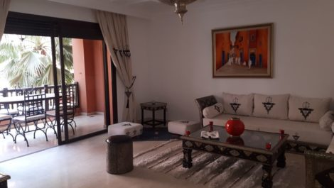 Bel appartement dans résidence de standing en plein cœur de Guéliz
