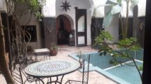 More than 600 sqm on the ground for this property consisting of three Riads interconnected on several Derbs