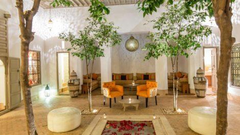 Riad – Maison d'hôtes très bien placé (entre Jemaa el Fna et Palais Bahia), SPA de 60 m², parking proche