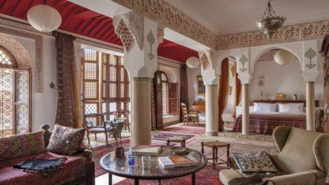 Trois-cent cinquante mètres au sol et l'un des plus grand patio de la médina pour cette Maison d'hôte exceptionnelle !