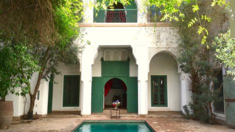 Hôtel particulier au cœur de la médina – Demeure historique
