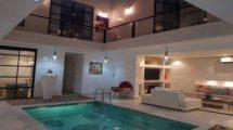 Riad de luxe à Sidi Mimoun, vue exceptionnelle sur la Mamounia – SPA