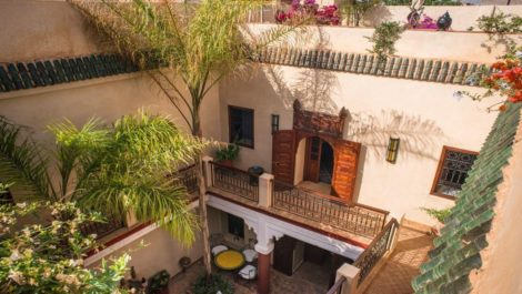 Traditional and comfortable riad in the medina of Marrakech