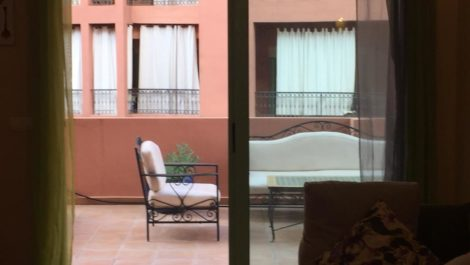 Appartement avec très grande terrasse à saisir!