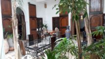 Quick decision needed : Riad for sale, 350 meters from Jemaa El Fna, oriental bath!