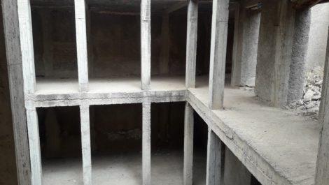 Projet de Riad à finaliser, Diour Jdad, 218 m² au sol avec plans d'architecte