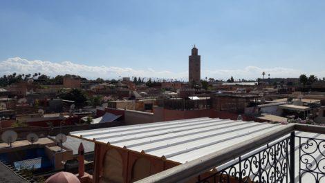 Future maison d'hôtes à Ksour, à finaliser, vue exceptionnelle