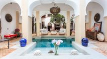 Sublime riad in Dar el Bacha, operated in luxury boutique hotel