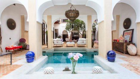 Sublime Riad à Dar el Bacha, exploité en boutique hôtel de luxe