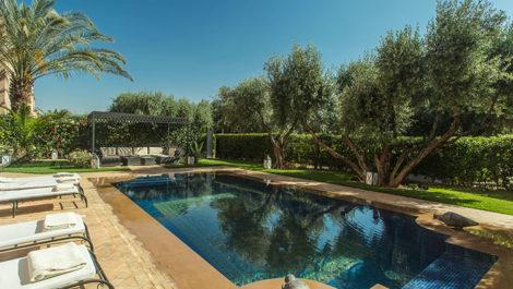 Villa à vendre route de Ouarzazat