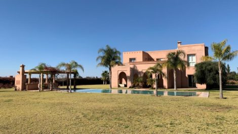 Villa à vendre à 30 minutes de Marrakech