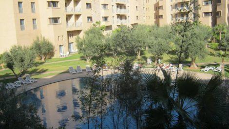 Appartement de haut standing à vendre dans une résidence avec piscine à Marrakech