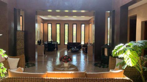 très belle villa style contemporain à Bab Atlas