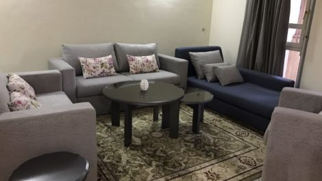 Furnished apartment of good standing for rent in Marrakech