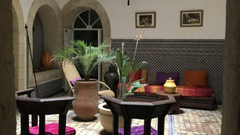 Riad traditionnel restauré