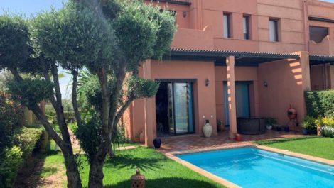 Charmante villa sur golf