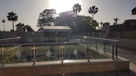 Riad de neuf chambres sans vis-à-vis surplombant les Jardins de la Mamounia