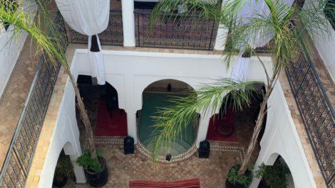 Riad classé en maison d'hôtes dans le quartier de Douar Graoua!