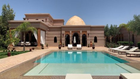 Superb classic style villa, only ten minuts from Marrakech