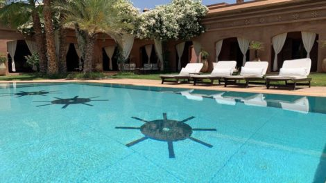 Marrakech : Very beautiful architect villa