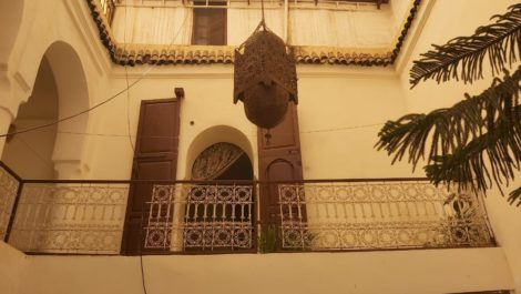 Riad to renovate with a view of Dar El Bacha!