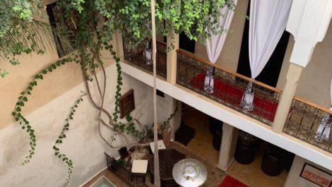 Riad agrée maison d'hôtes de 5 Chambres en activité à Marrakech