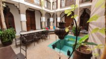 Riad classified guest house, immediately usable!
